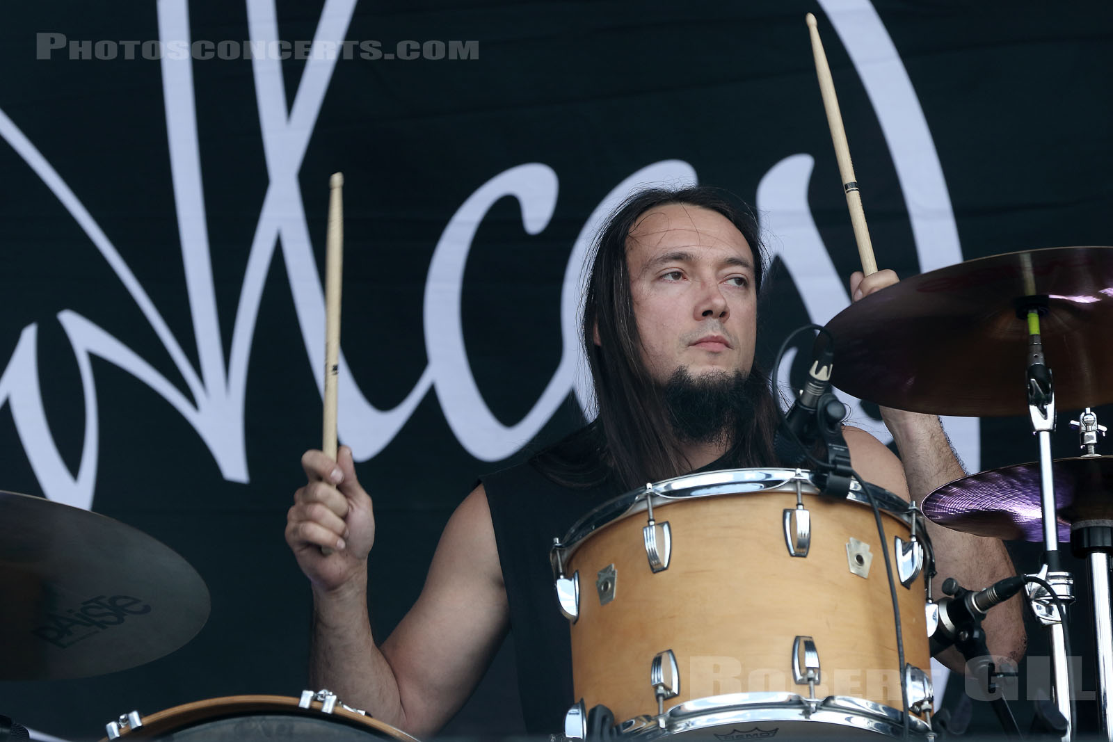 ALCEST - 2018-06-16 - BRETIGNY-SUR-ORGE - Base Aerienne 217 - Main Stage 2