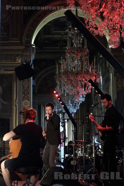 ALEX BEAUPAIN - 2013-07-21 - PARIS - Hotel de Ville - Salon des Arcades