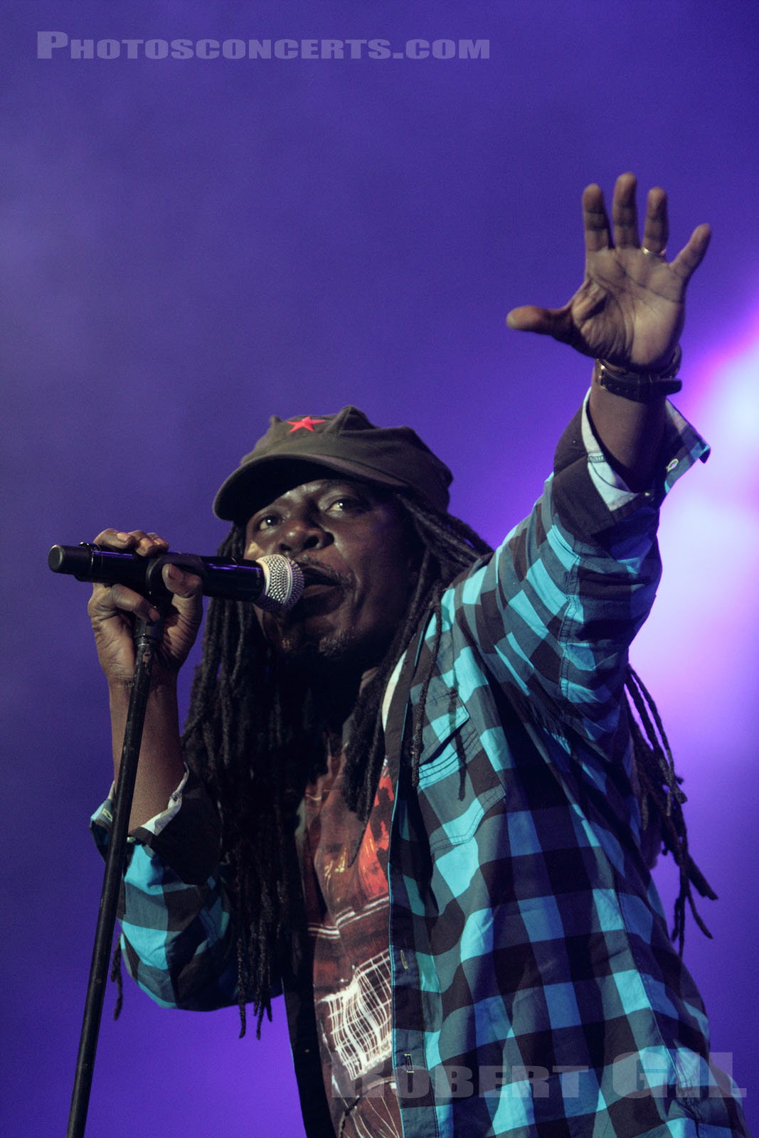 ALPHA BLONDY - 2010-06-21 - VINCENNES - Chateau de Vincennes