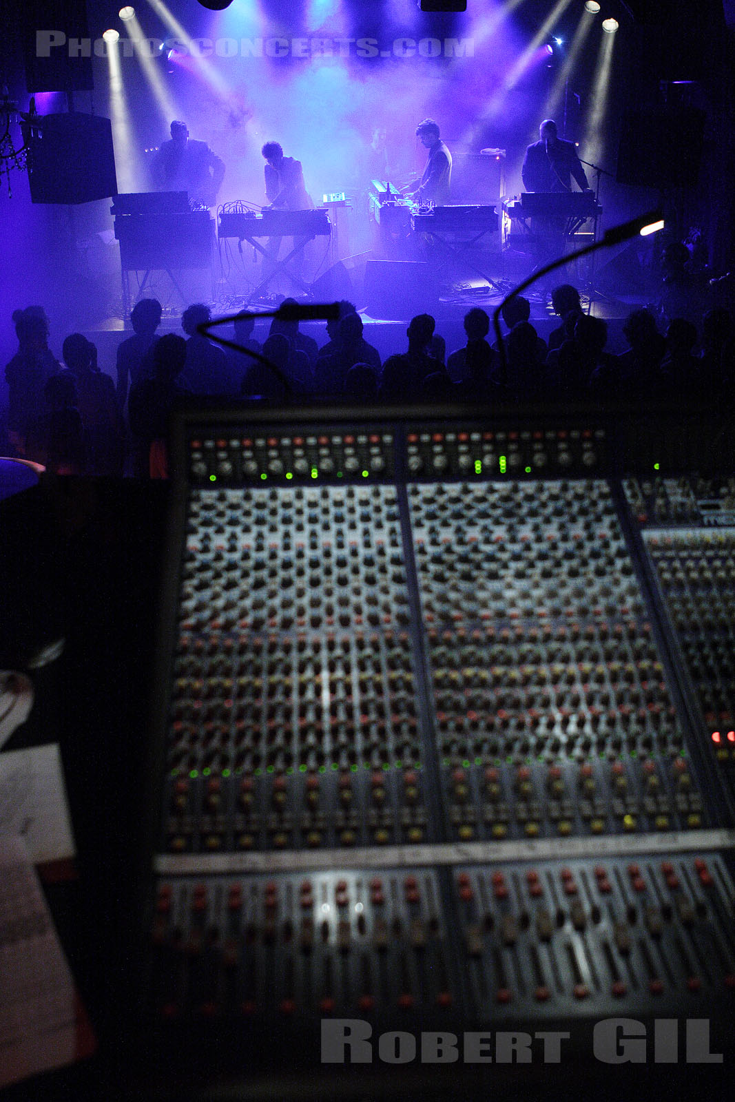 APPARAT ORGAN QUARTET - 2006-05-09 - PARIS - Nouveau Casino