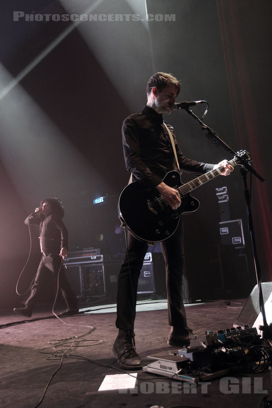 AT THE DRIVE IN - 2018-02-28 - PARIS - Olympia