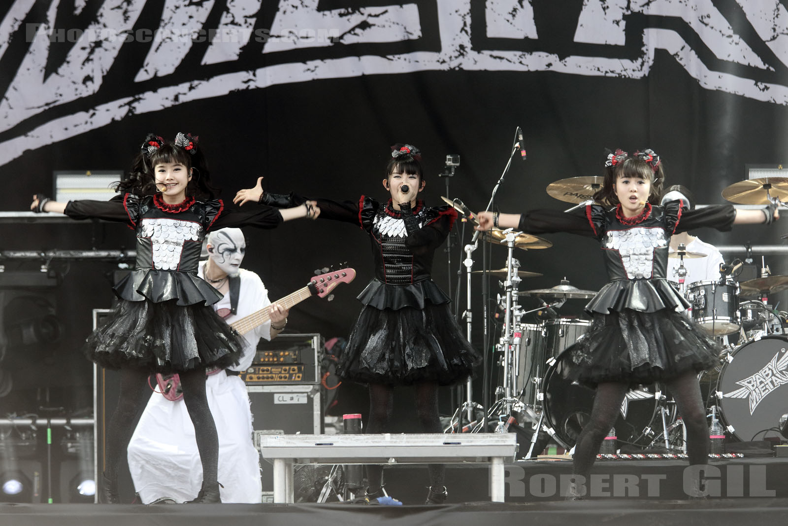 BABY METAL - 2016-06-11 - PARIS - Hippodrome de Longchamp - Main Stage