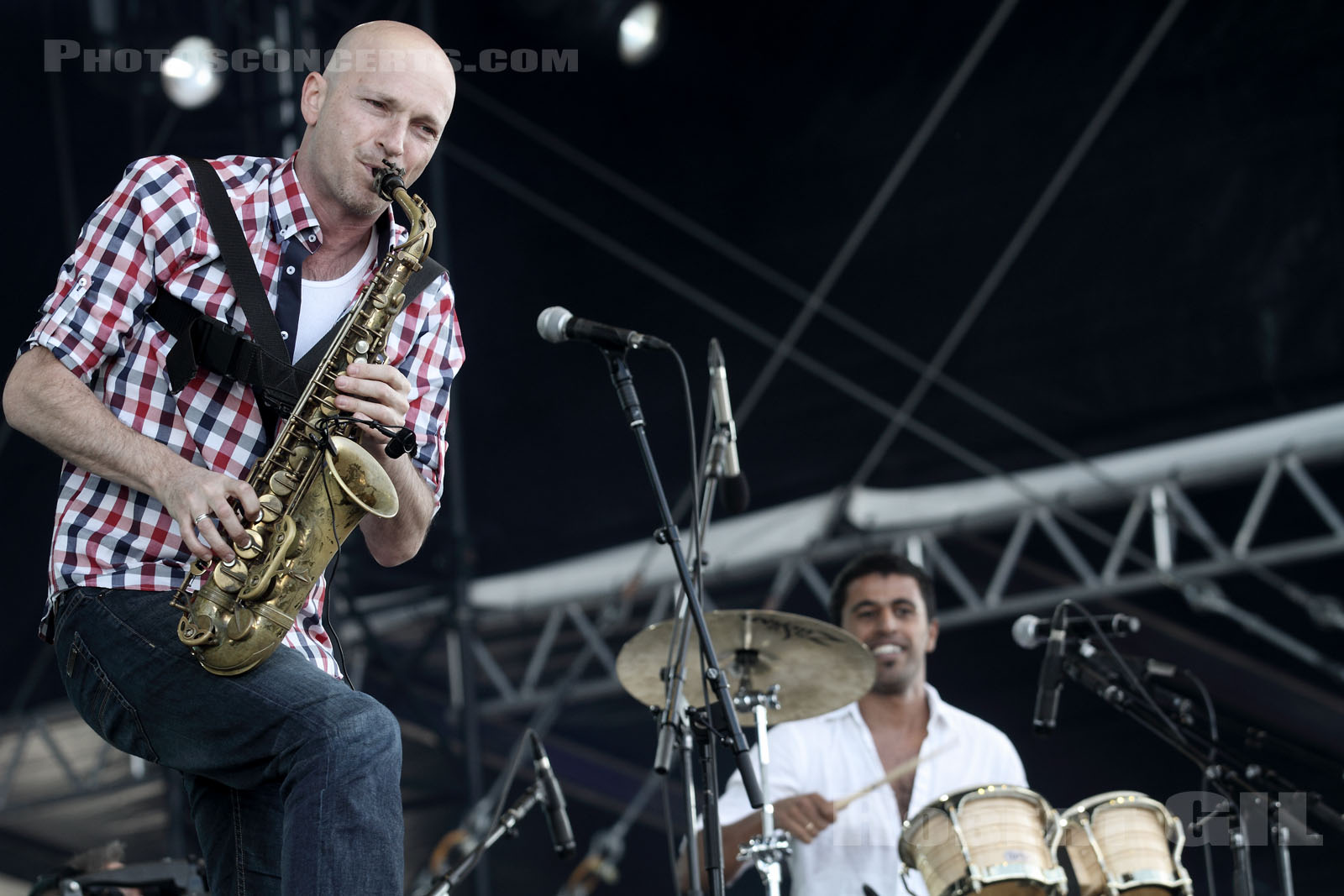 BALKAN BEAT BOX - 2011-06-24 - PARIS - Hippodrome de Longchamp