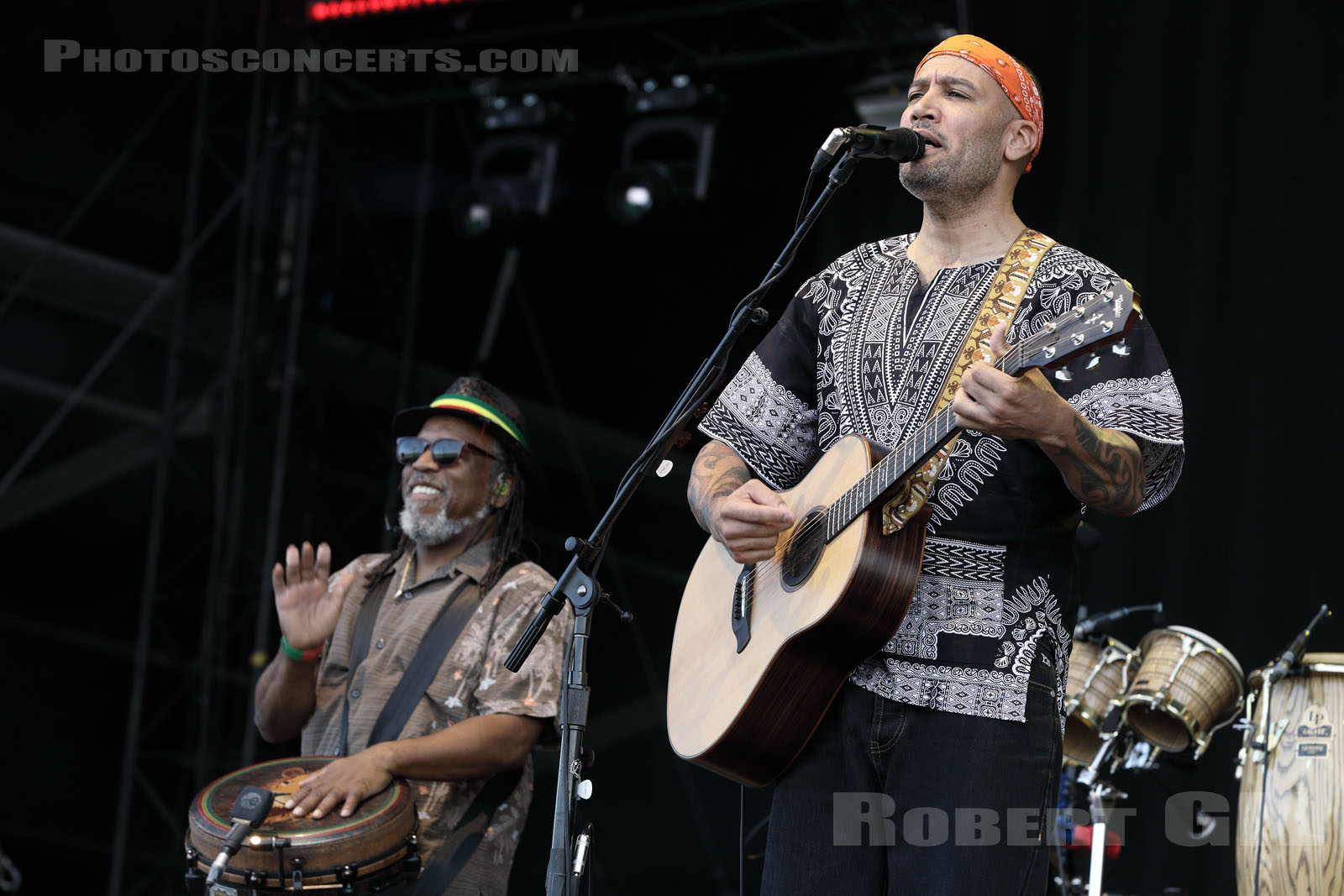 BEN HARPER AND THE INNOCENT CRIMINALS - 2019-07-21 - PARIS - Hippodrome de Longchamp - Main Stage 1