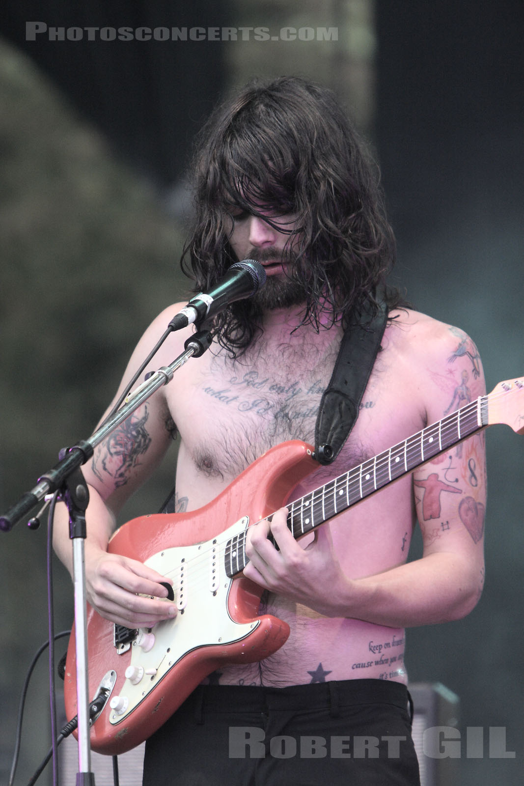 BIFFY CLYRO - 2007-08-24 - SAINT CLOUD - Domaine National - Scene de l'Industrie