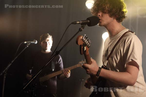 BILL RYDER-JONES - 2015-12-10 - PARIS - Point Ephemere