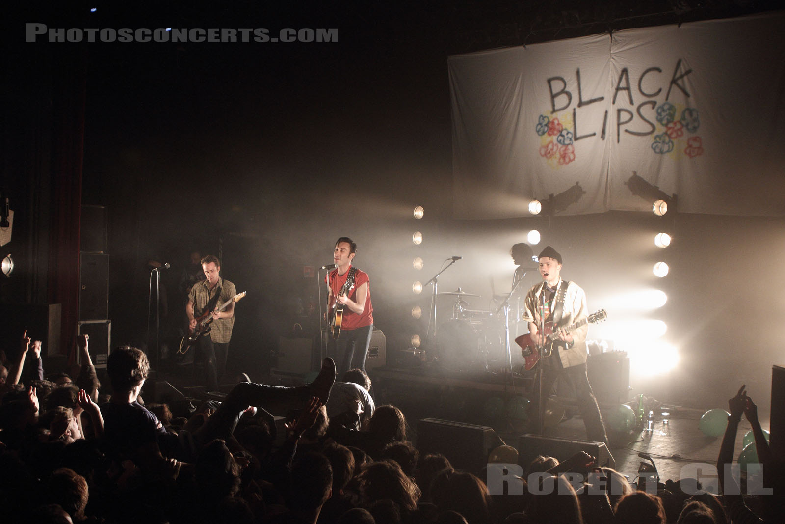 BLACK LIPS - 2014-10-23 - PARIS - La Cigale