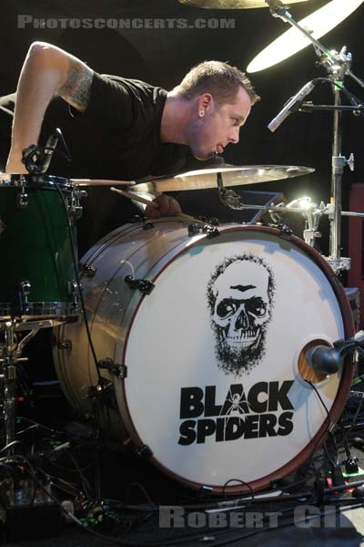 BLACK SPIDERS - 2008-12-02 - PARIS - Trabendo