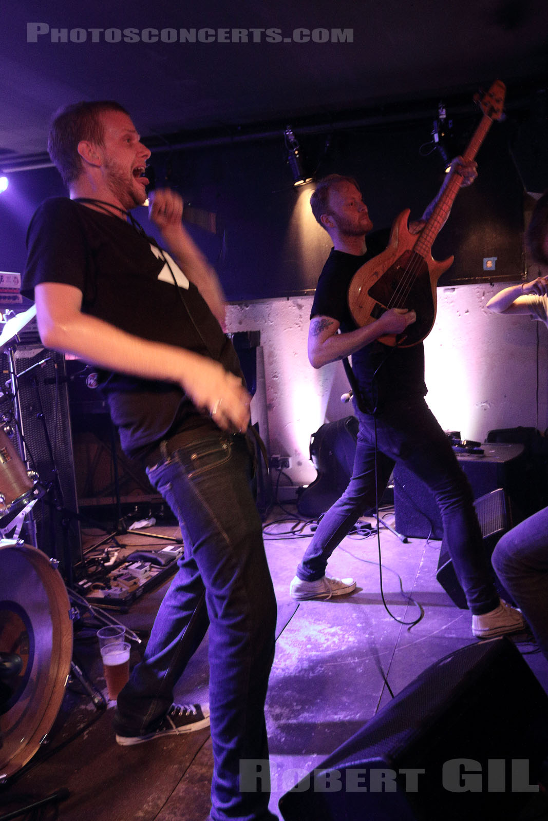 BLACKLISTERS - 2016-09-01 - PARIS - Olympic Cafe