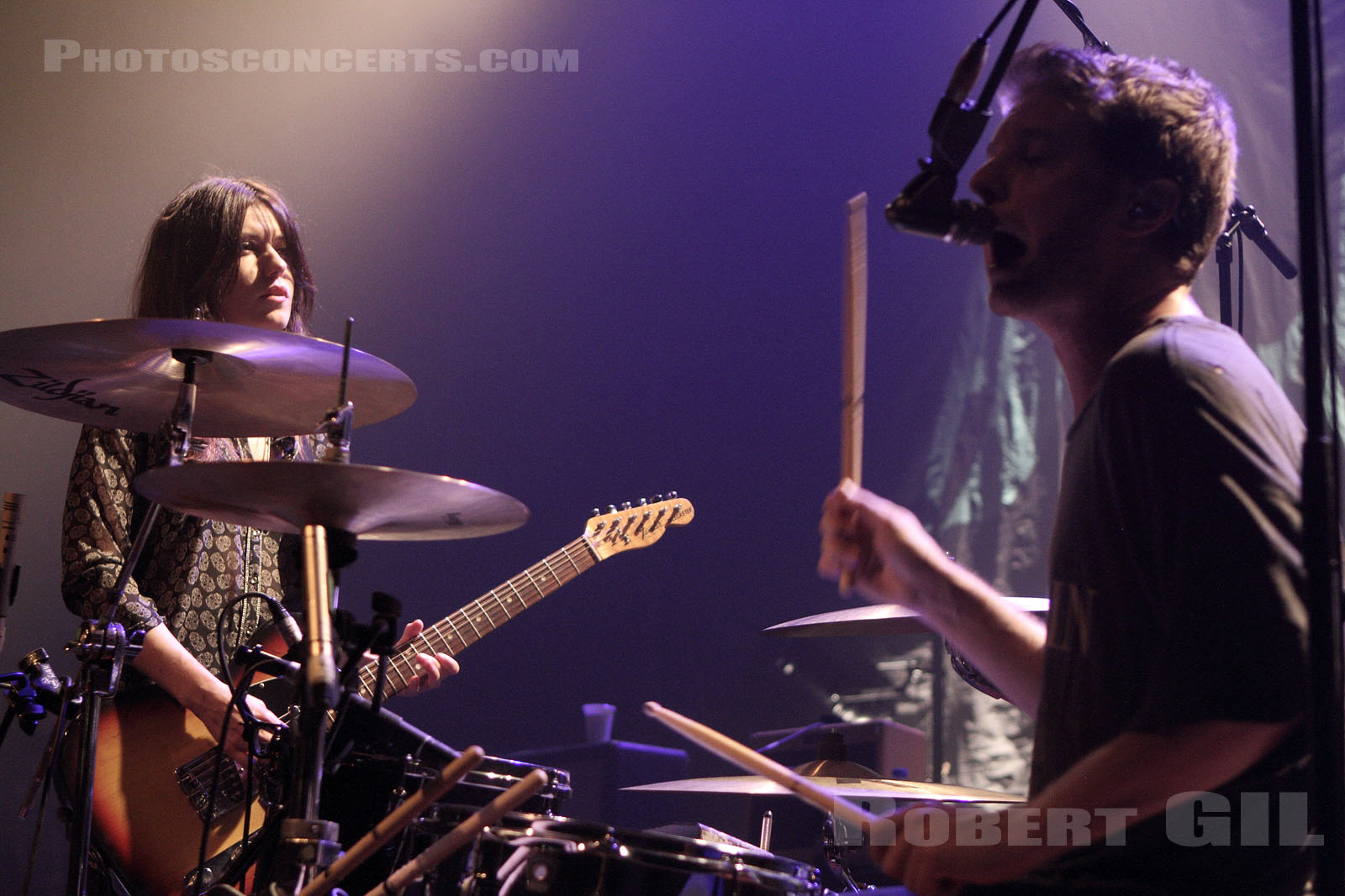 BLOOD RED SHOES - 2012-11-04 - PARIS - La Cigale