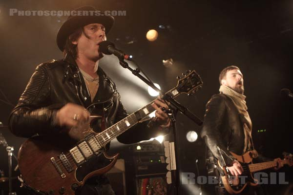 CARL BARAT AND THE JACKALS - 2015-03-04 - PARIS - La Maroquinerie