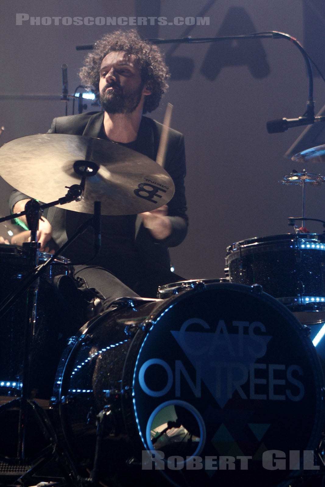 CATS ON TREES - 2014-09-27 - PARIS - Le Trianon