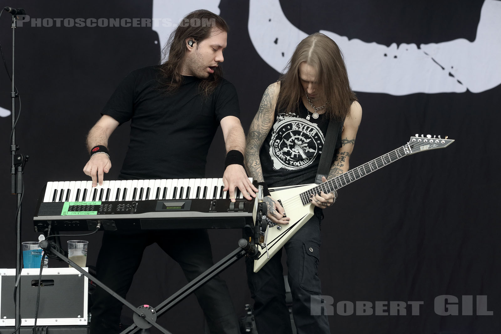 CHILDREN OF BODOM - 2016-06-12 - PARIS - Hippodrome de Longchamp - Stage 2