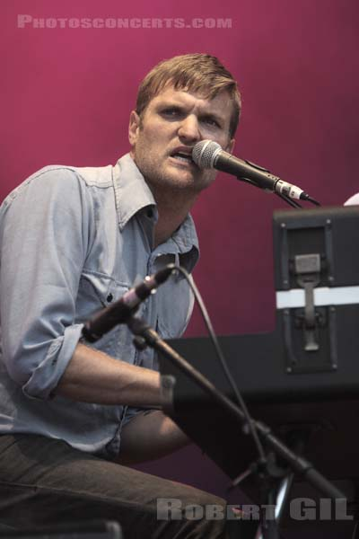 COLD WAR KIDS - 2007-08-25 - SAINT CLOUD - Domaine National - Grande Scene