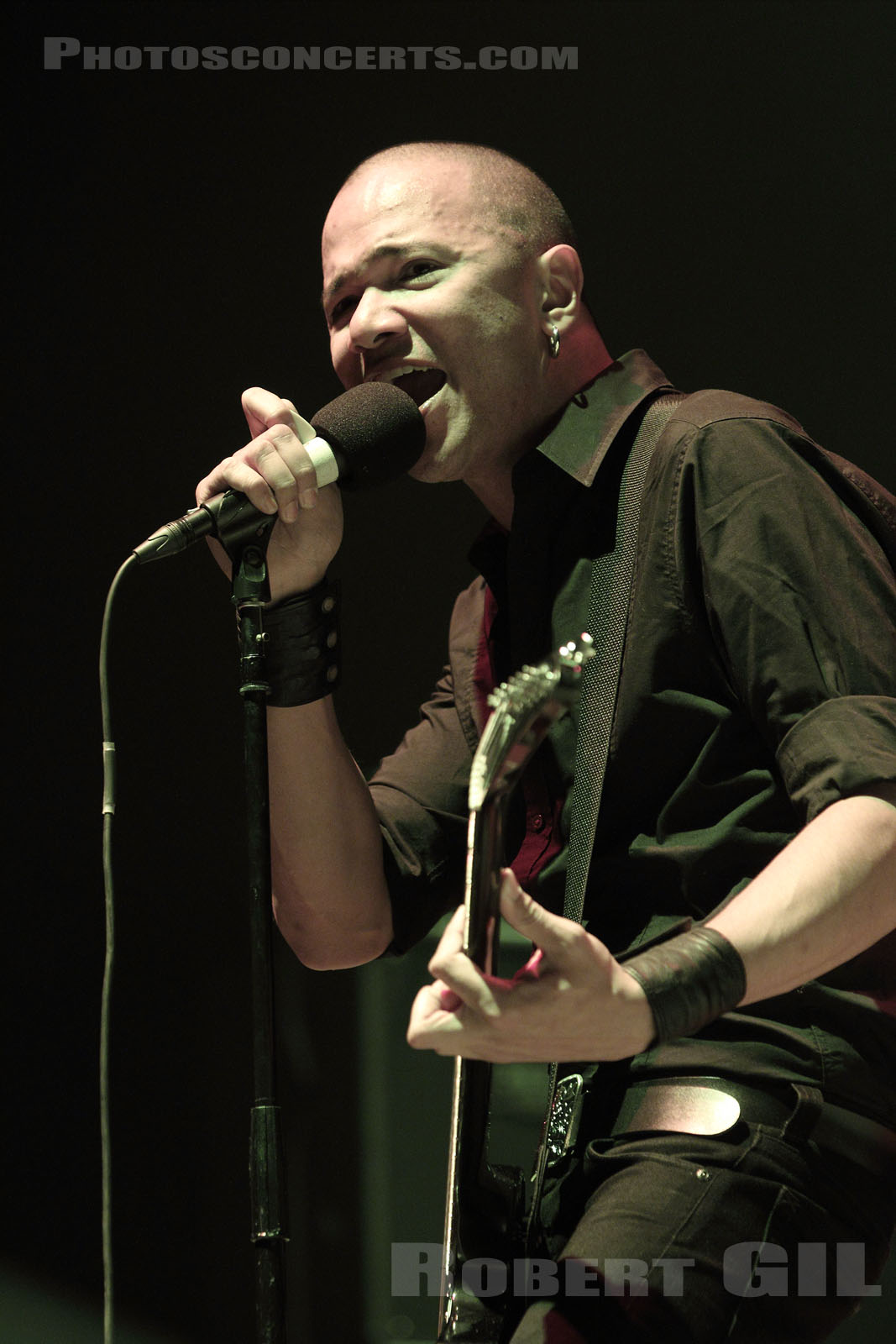 DANKO JONES - 2010-09-20 - PARIS - Bercy