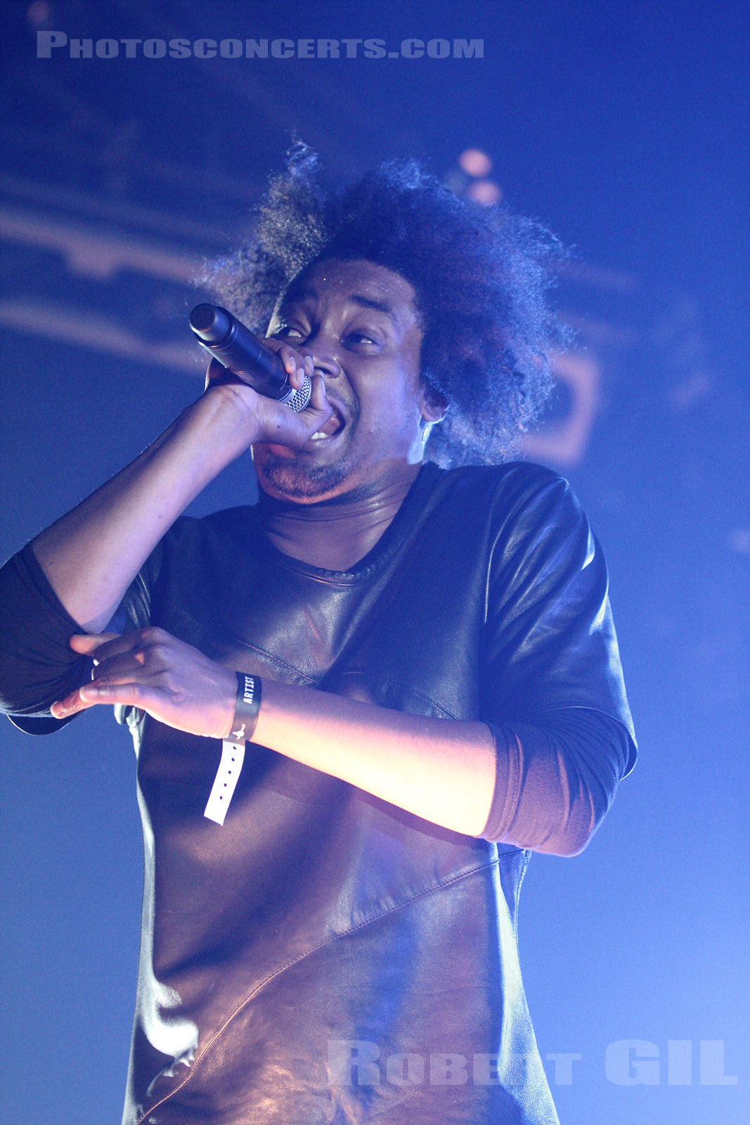 DANNY BROWN - 2013-11-01 - PARIS - Grande Halle de La Villette