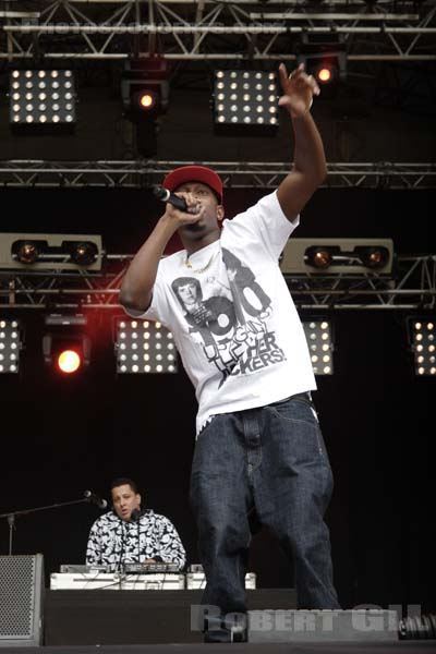 DIZZEE RASCAL - 2007-08-24 - SAINT CLOUD - Domaine National - Grande Scene