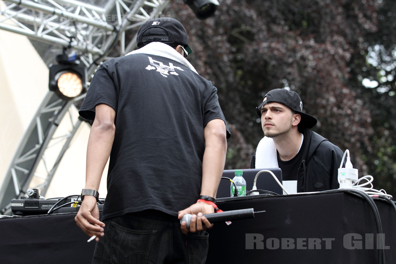 DJ SPINN VS TASO - 2014-06-01 - PARIS - Parc de Bagatelle