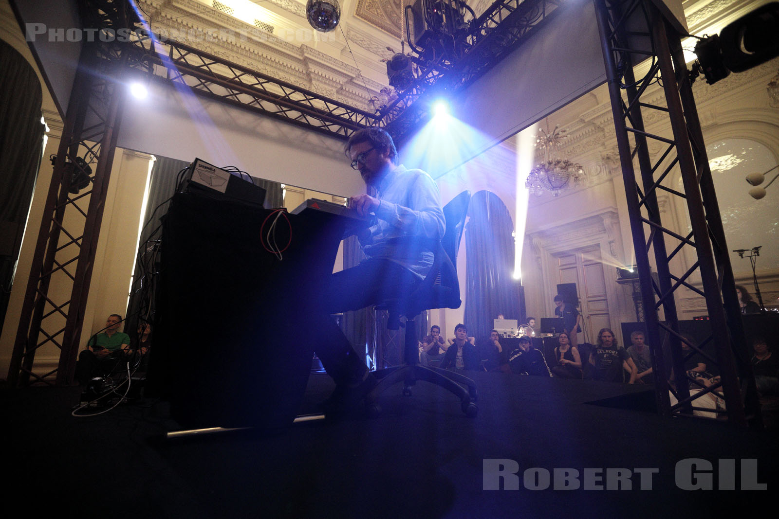 DOMOTIC - 2019-04-21 - PARIS - Palais Brongniart - Salon d'honneur