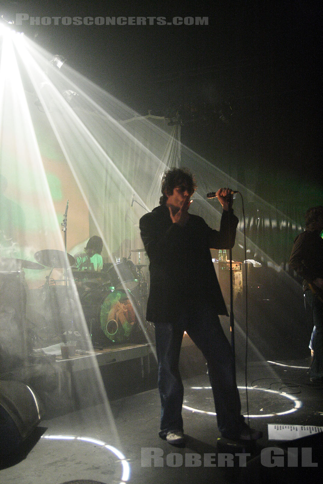 ECHO AND THE BUNNYMEN - 2005-11-15 - PARIS - Trabendo