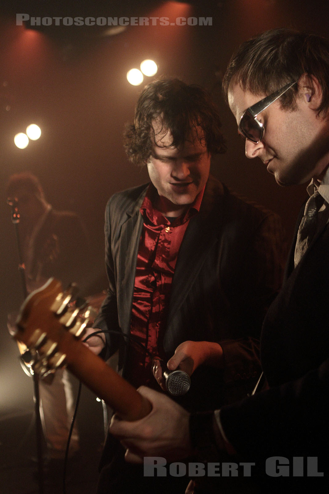 ELECTRIC SIX - 2012-11-26 - PARIS - La Maroquinerie