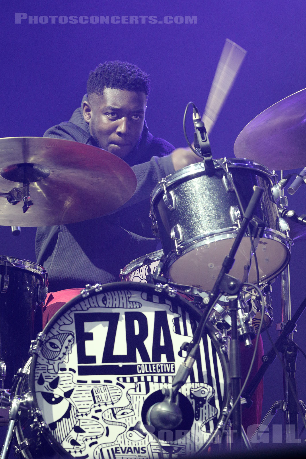 EZRA COLLECTIVE - 2019-10-31 - PARIS - Grande Halle de La Villette