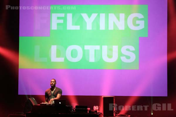 FLYING LOTUS - 2012-05-25 - PARIS - Espace Charlie Parker - Grande Halle
