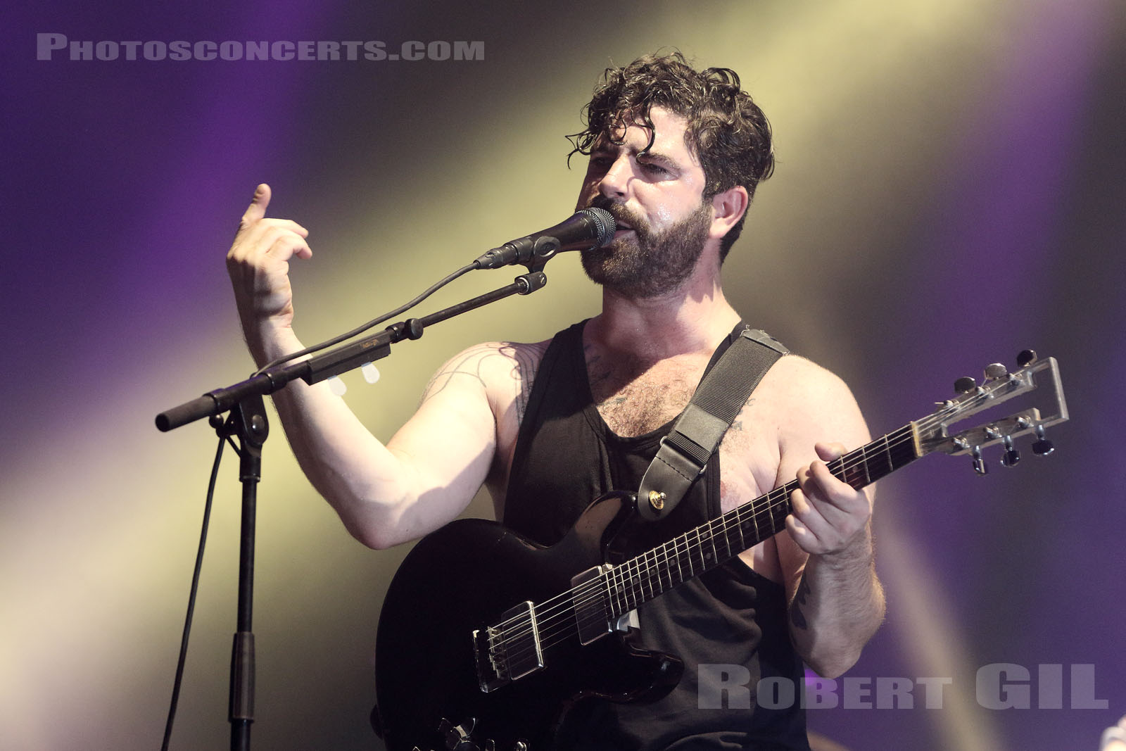 FOALS - 2016-08-28 - SAINT CLOUD - Domaine National - Grande Scene