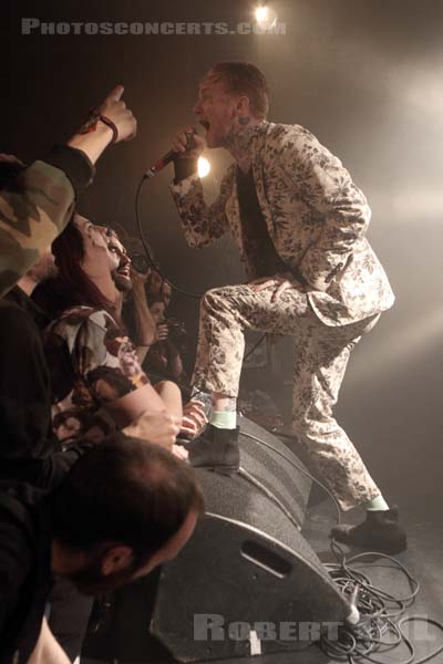 FRANK CARTER AND THE RATTLESNAKES - 2016-10-06 - PARIS - La Maroquinerie