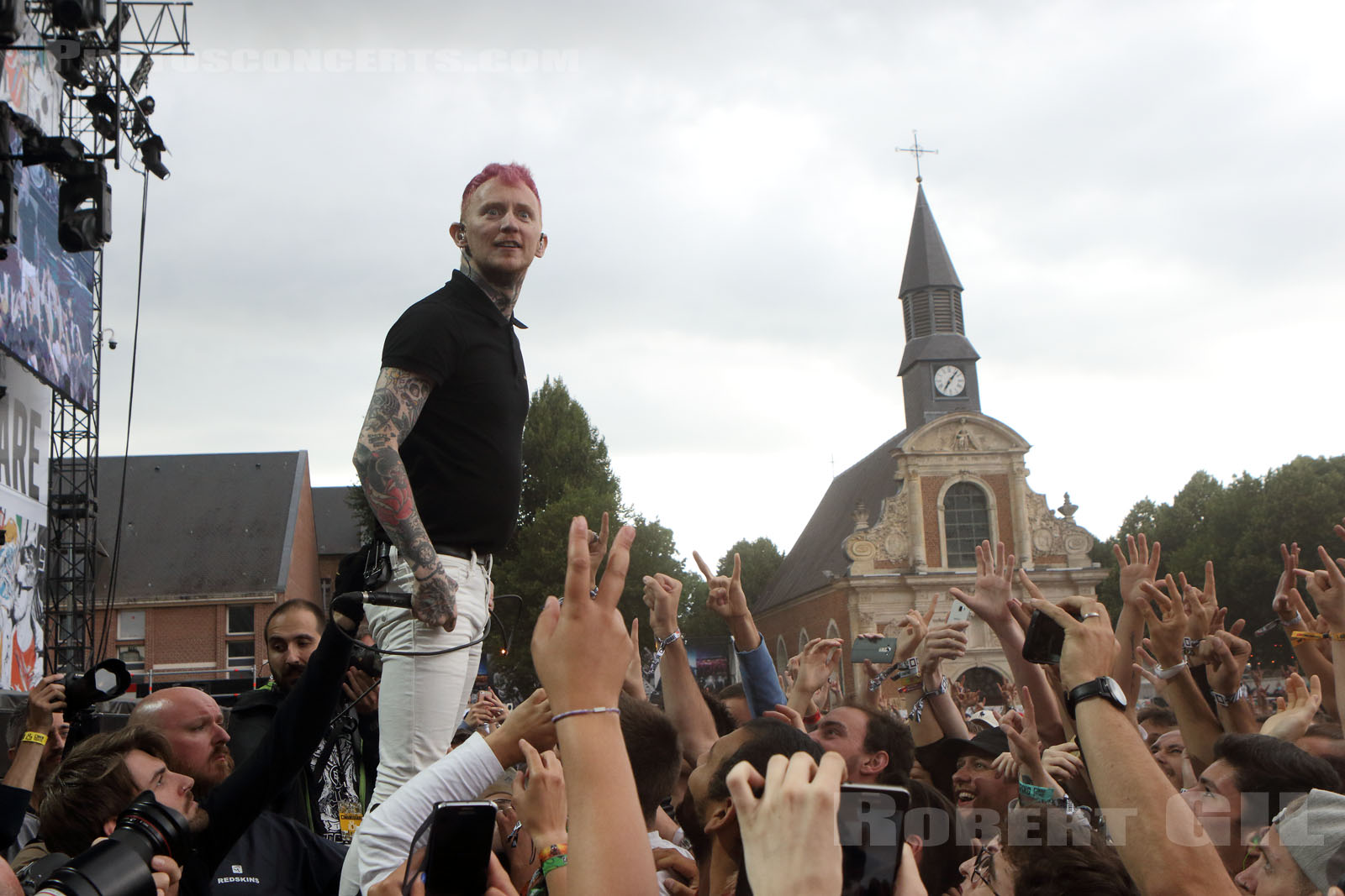 FRANK CARTER AND THE RATTLESNAKES - 2017-06-30 - ARRAS - La Citadelle - Main Stage