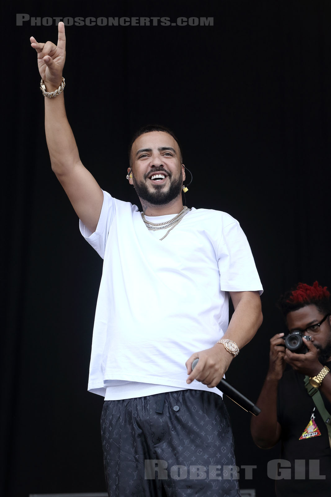 FRENCH MONTANA - 2018-07-22 - PARIS - Hippodrome de Longchamp - Main Stage 1