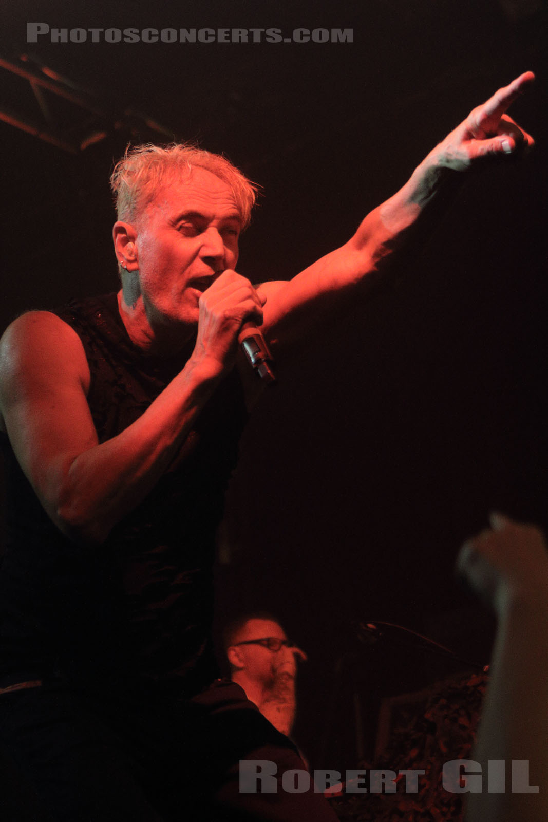FRONT LINE ASSEMBLY - 2018-08-20 - PARIS - La Machine (du Moulin Rouge)