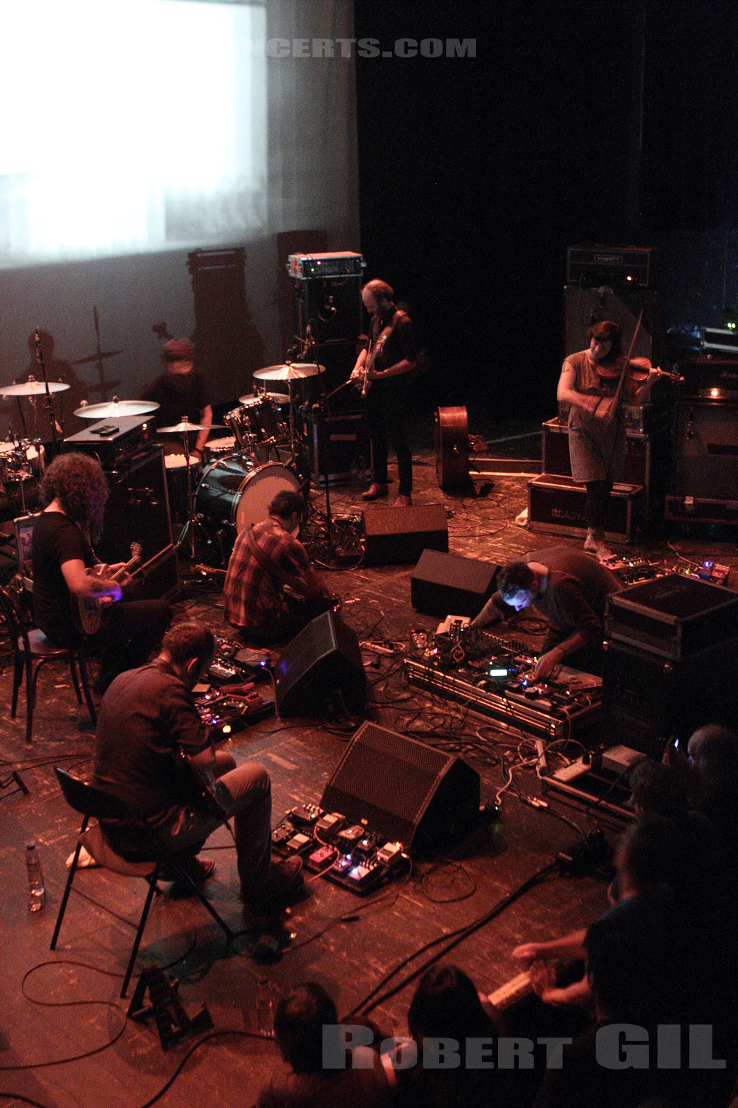 GODSPEED YOU! BLACK EMPEROR - 2013-08-18 - PARIS - Le Trianon