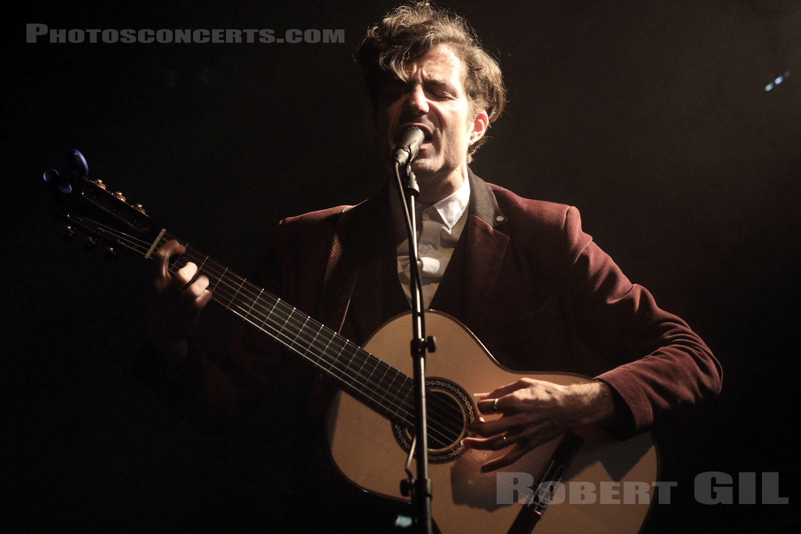 GUY BLAKESLEE - 2016-04-08 - PARIS - La Fleche d'Or