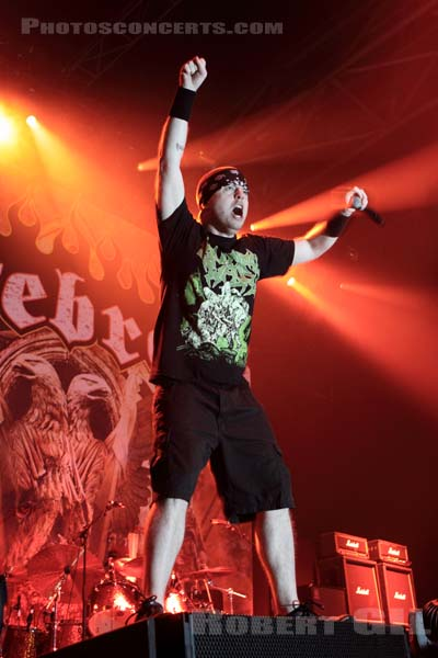 HATEBREED - 2010-02-06 - PARIS - Zenith