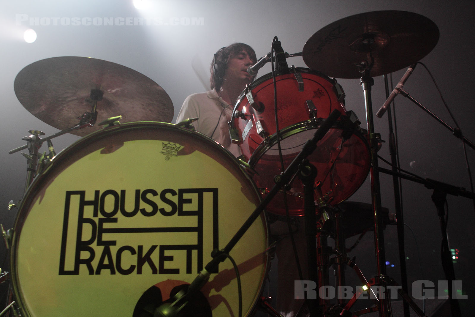 HOUSSE DE RACKET - 2008-11-30 - PARIS - Le Bataclan
