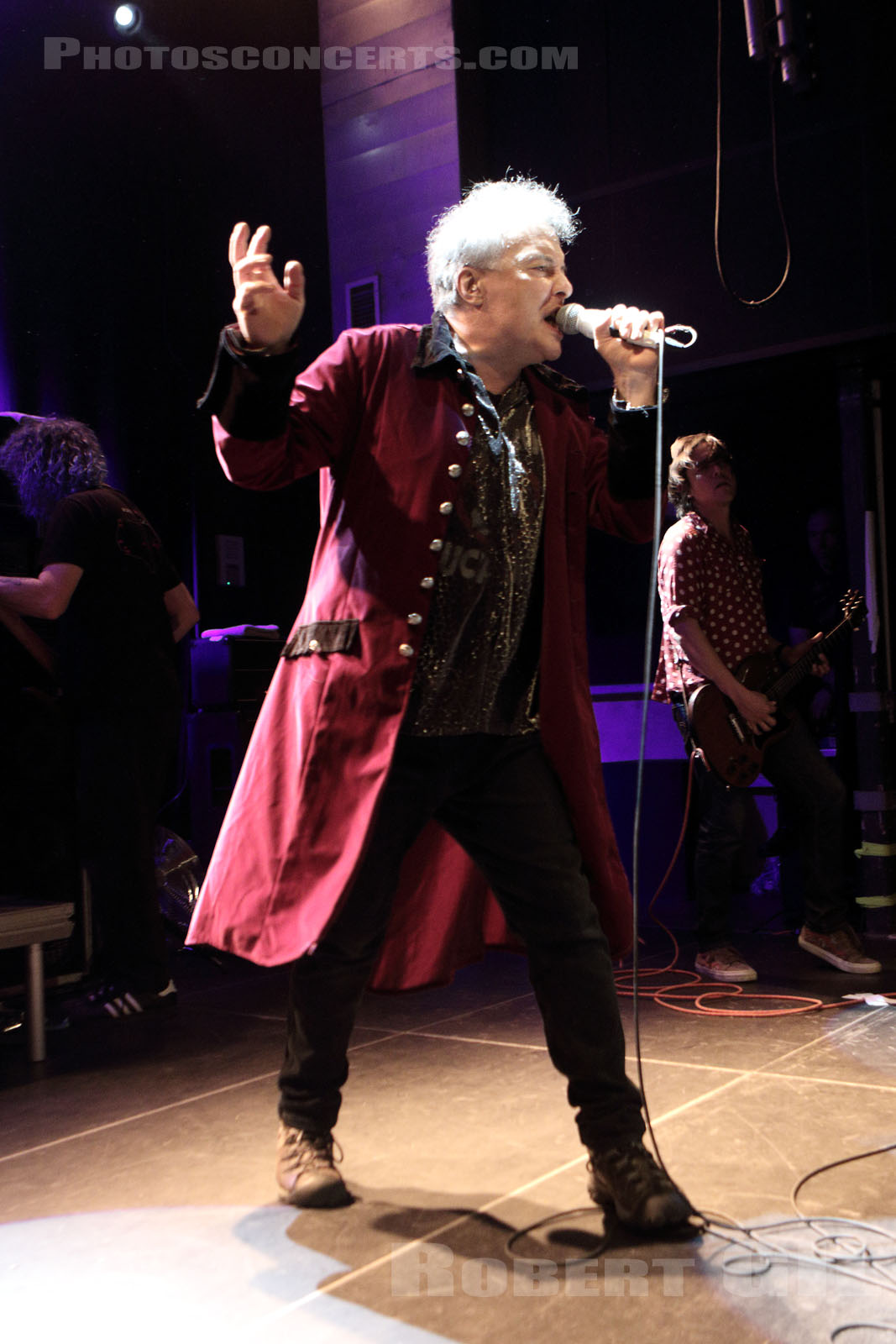 JELLO BIAFRA AND THE GUANTANAMO SCHOOL OF MEDECINE - 2016-08-21 - PARIS - Petit Bain