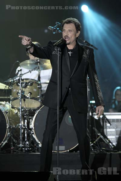 JOHNNY HALLYDAY - 2009-02-28 - PARIS - Zenith