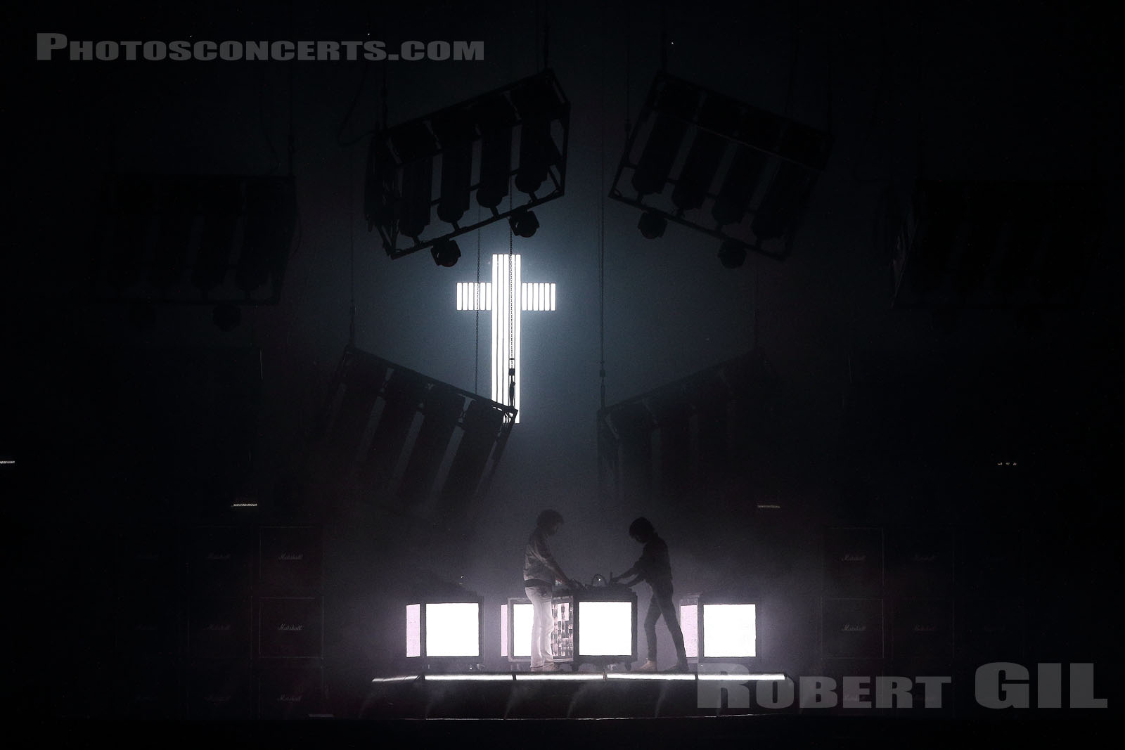 JUSTICE - 2018-08-26 - SAINT CLOUD - Domaine National - Grande Scene