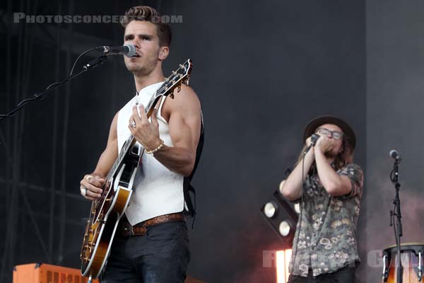 KALEO - 2018-07-21 - PARIS - Hippodrome de Longchamp - Main Stage 1
