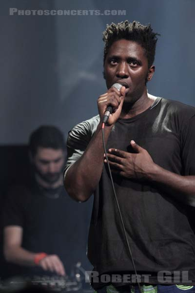 KELE OKEREKE - 2014-10-25 - PARIS - Gaite Lyrique