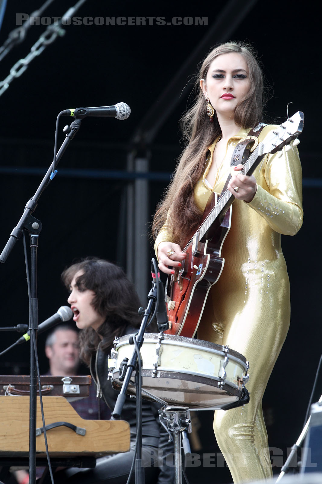 KITTY, DAISY AND LEWIS - 2014-08-22 - SAINT CLOUD - Domaine National - Grande Scene