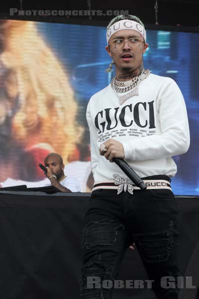 LIL PUMP - 2018-07-21 - PARIS - Hippodrome de Longchamp - Main Stage 1