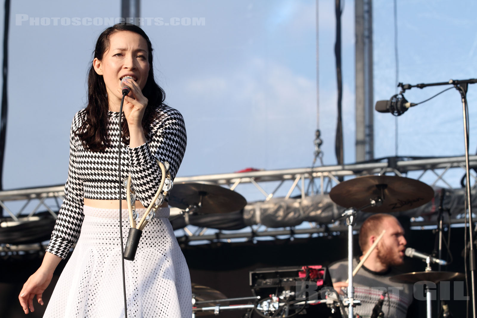 LITTLE DRAGON - 2014-05-31 - PARIS - Parc de Bagatelle
