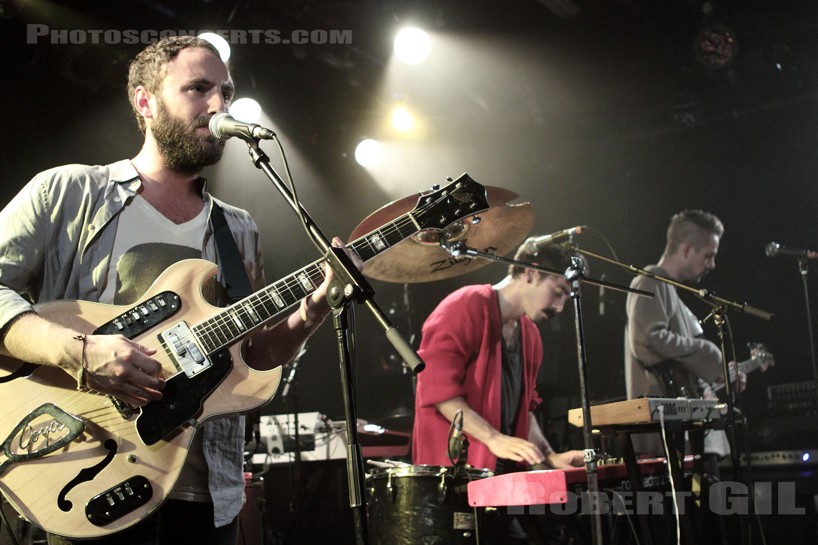 LOCAL NATIVES - 2009-10-15 - PARIS - La Maroquinerie