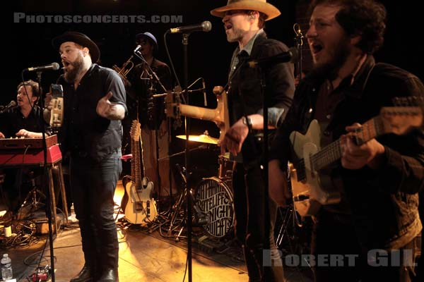 NATHANIEL RATELIFF AND THE NIGHT SWEATS - 2016-02-18 - PARIS - La Maroquinerie