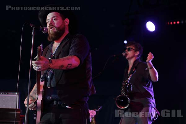NATHANIEL RATELIFF AND THE NIGHT SWEATS - 2016-06-25 - PARIS - Hippodrome de Longchamp - Cesar Circus