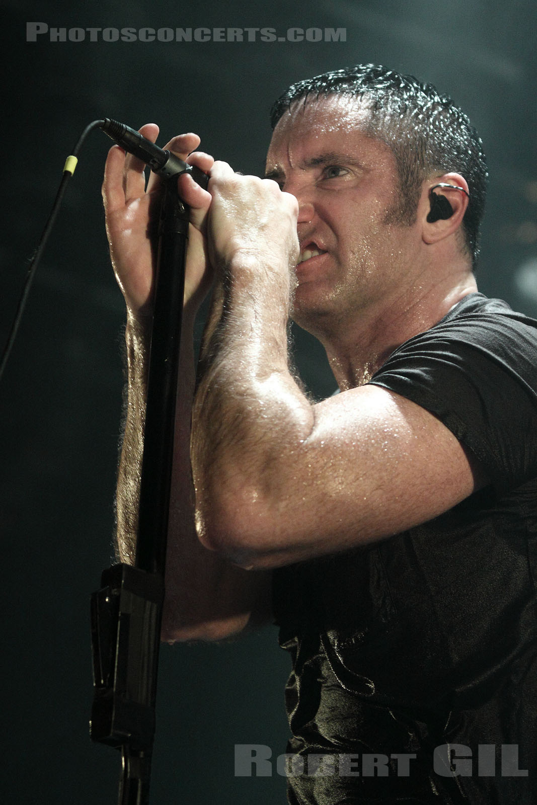 NINE INCH NAILS - 2009-07-07 - PARIS - Zenith