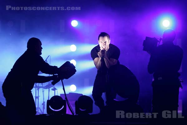 NINE INCH NAILS - 2013-08-24 - SAINT CLOUD - Domaine National - Grande Scene