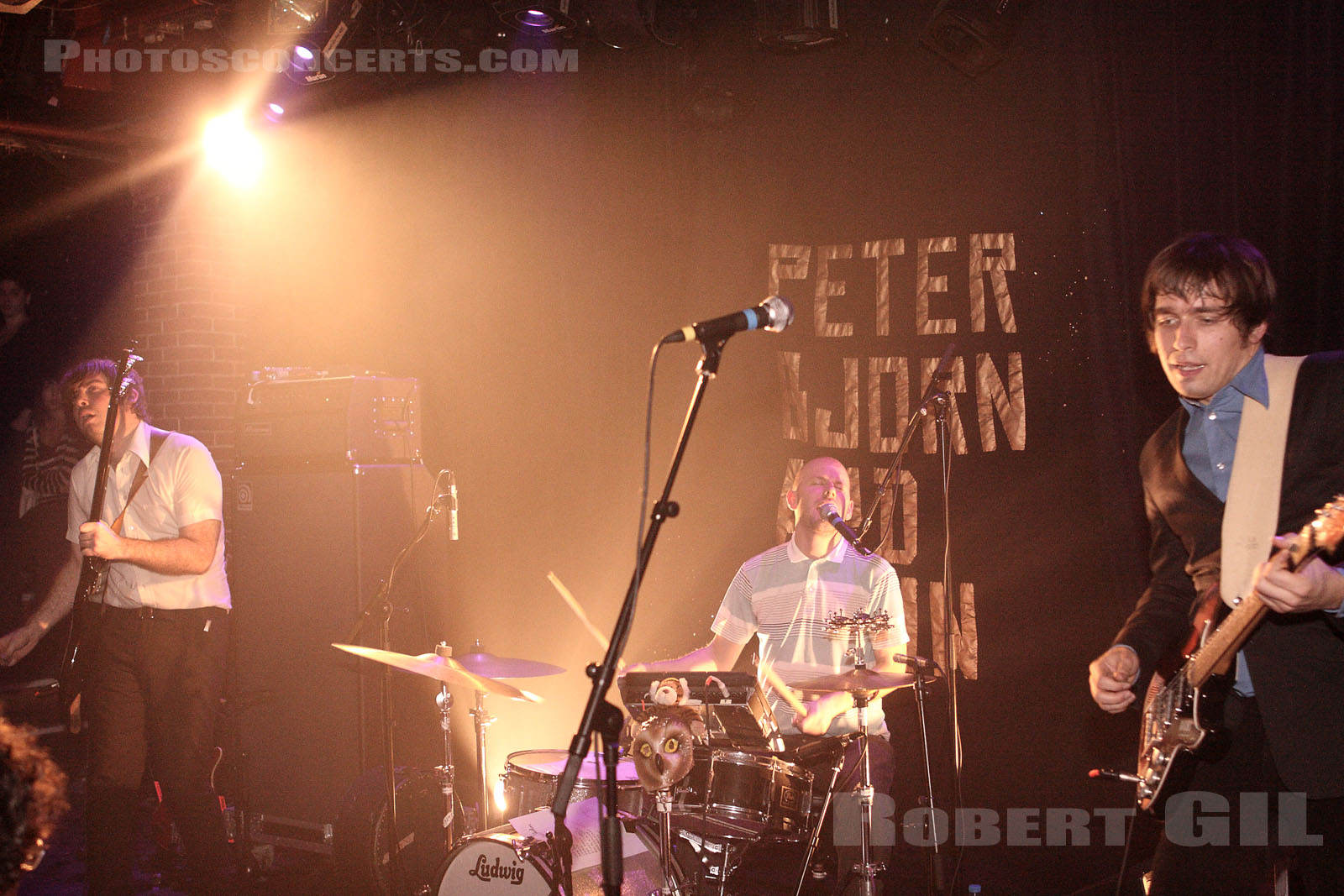 PETER BJORN AND JOHN - 2007-01-13 - PARIS - La Maroquinerie